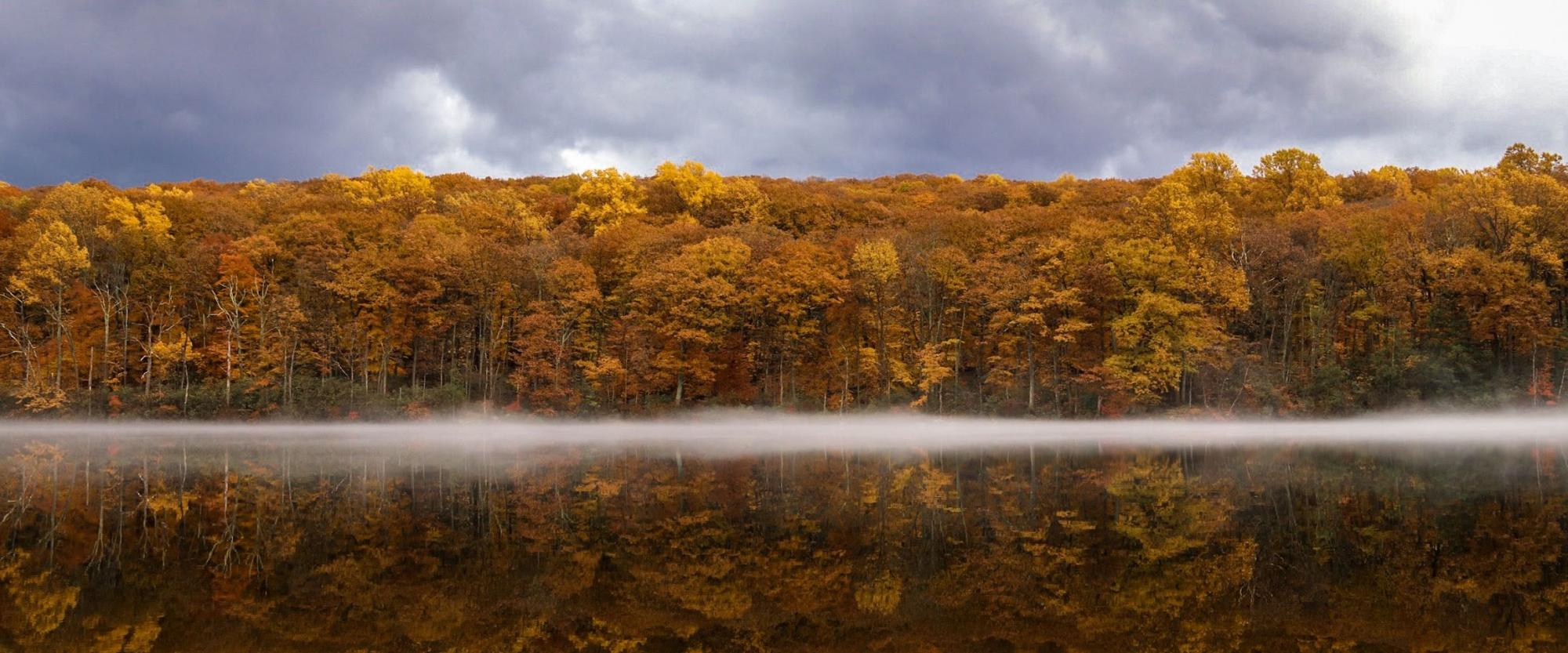 Harriman Lake Reflection. Photo by Diana Richards.