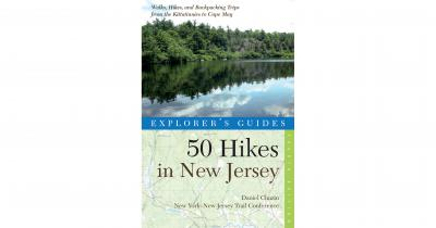 50 Hikes in New Jersey Book Cover